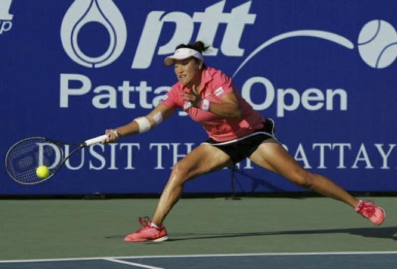Tennis player in Pattaya Thailand