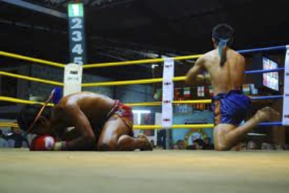 Muay Thai ceremony
