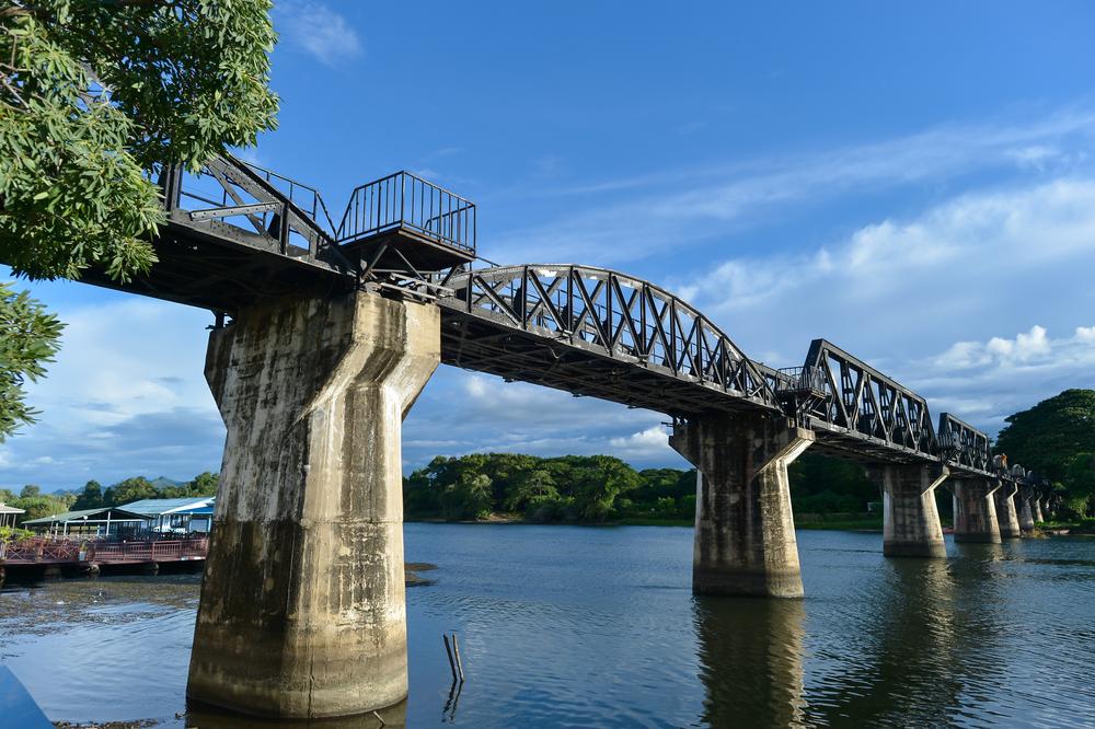 Kanchanaburi - Bridge on the River Kwai