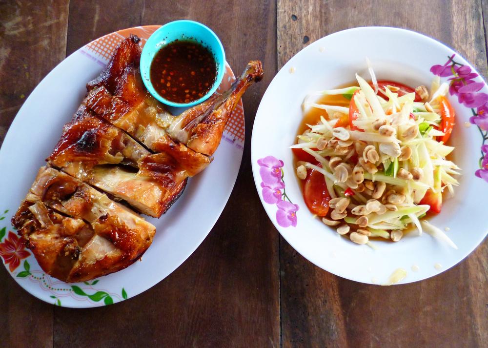 Regional Thai Flavors - Thailand - Papaya Salad